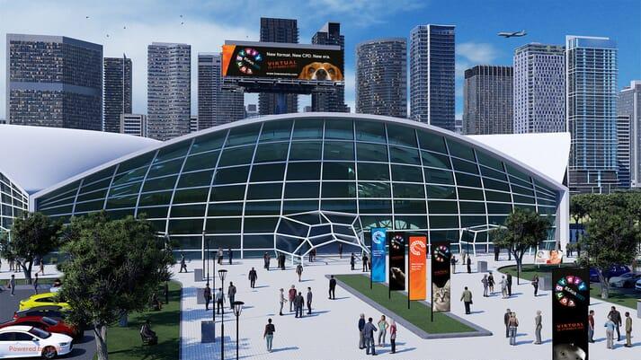 BSAVA Congress 2021 exterior. Powered by vFairs