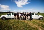 FIGURE (1) The Cattle Lameness Academy vet tech team 2019