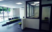 The building has waiting areas large enough for client evenings and puppy parties thumbnail