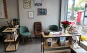 The dog and cat waiting areas are well defined with comfy leather chairs and all sorts of knick-knacks to keep both clients and patients occupied.  thumbnail