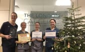 Staff at the winning London Cat Clinic thumbnail