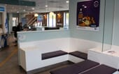Cat waiting area, Roundhouse Veterinary Hospital thumbnail