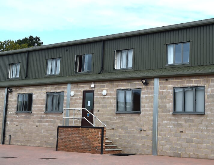 The new accommodation block was designed by Director Rob van Pelt to be included in the new build