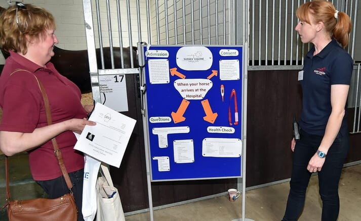 FIGURE 4  The hospital team opened the doors to visitors of all ages to showcase their work